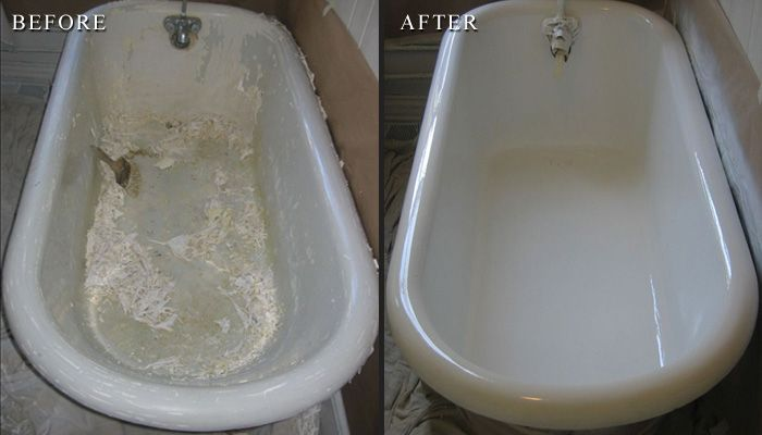 Clawfoot Tub Refinishing