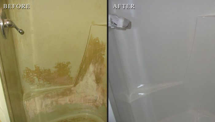 Stand Up Shower Refinishing